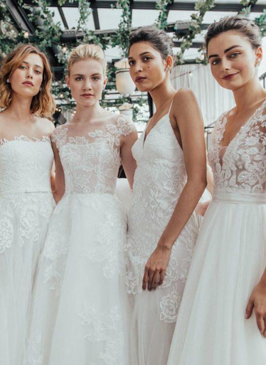 Свадебные платья 2019: основные тенденции