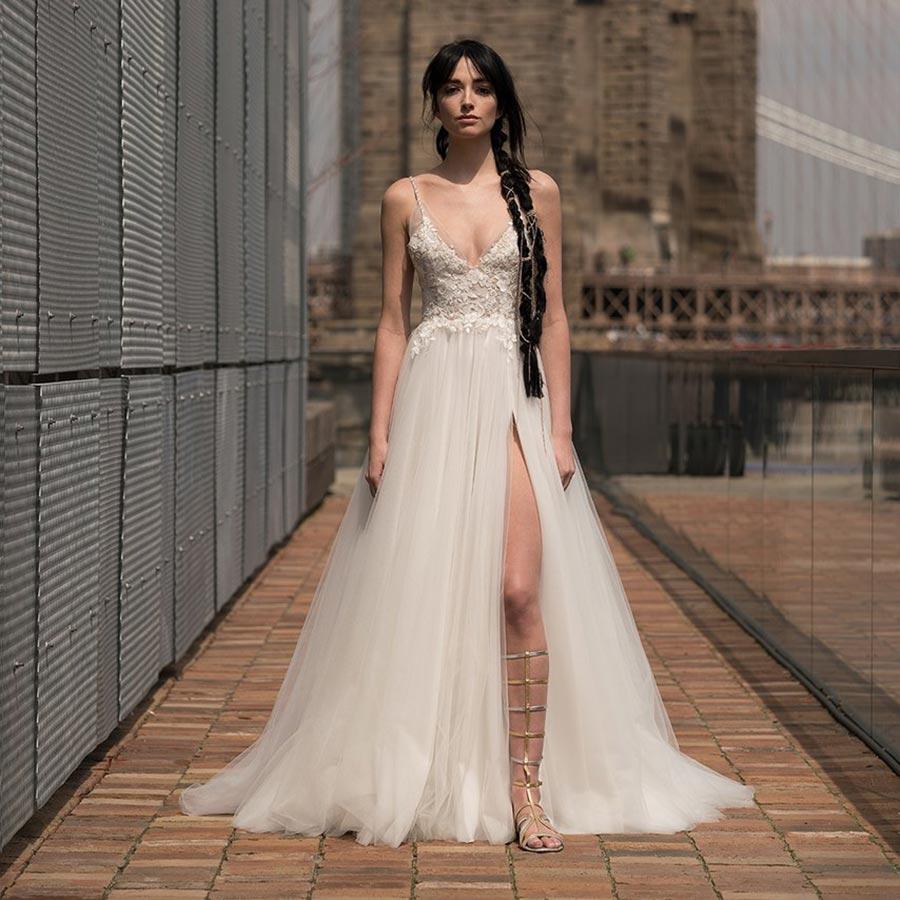 свадебные платья 2019 основные тенденции 25
