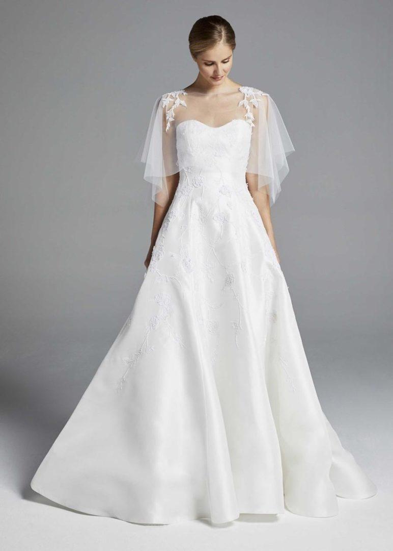 свадебные платья 2019 основные тенденции 32