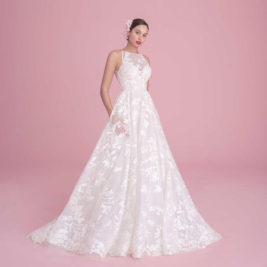 свадебные платья 2019 основные тенденции 36