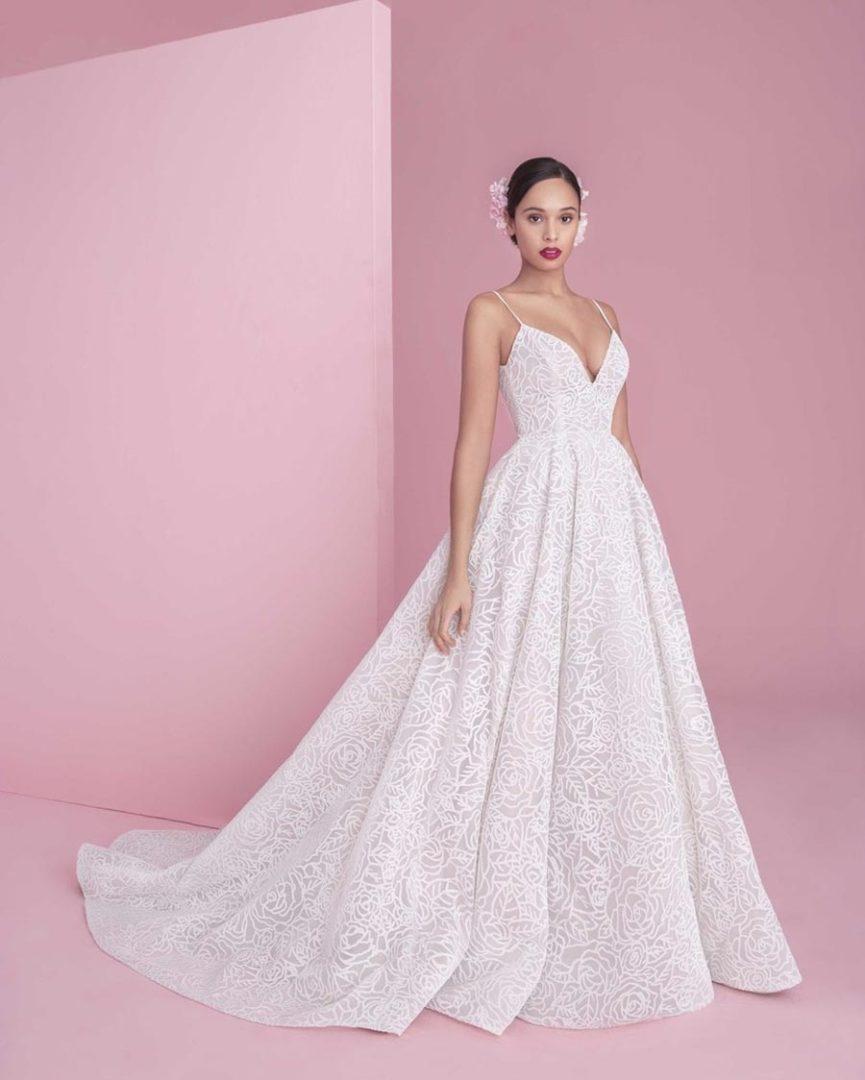 свадебные платья 2019 основные тенденции 9