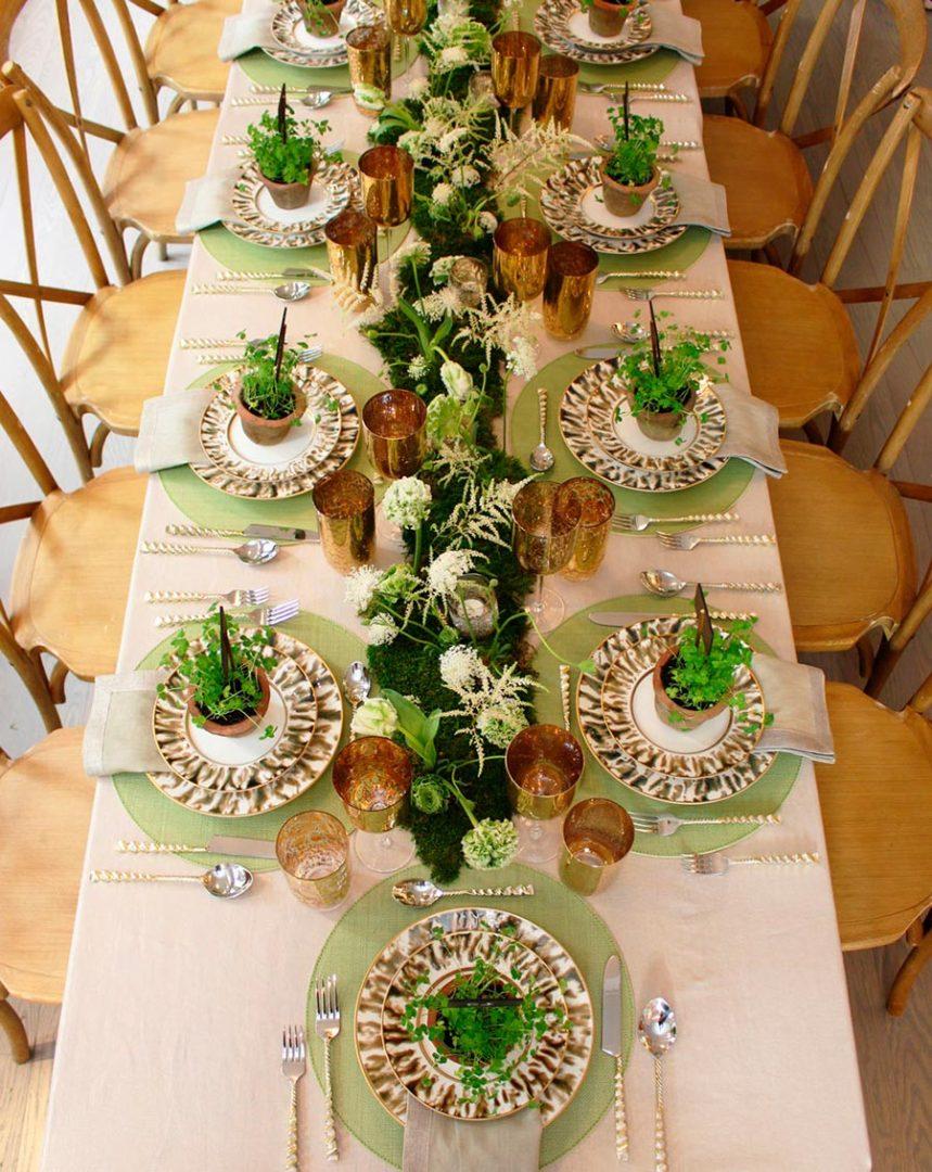 свежие идеи свадебной сервировки 3