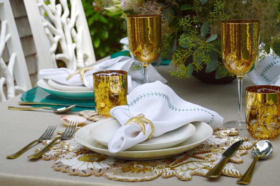 свежие идеи свадебной сервировки 6