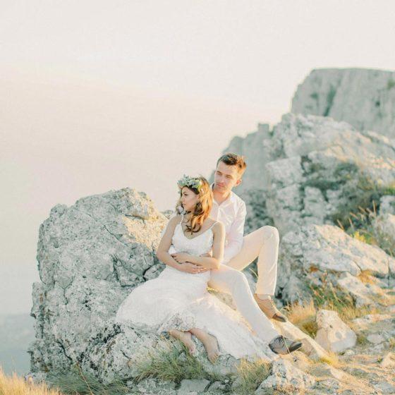 Love Story на вершине Ай-Петри