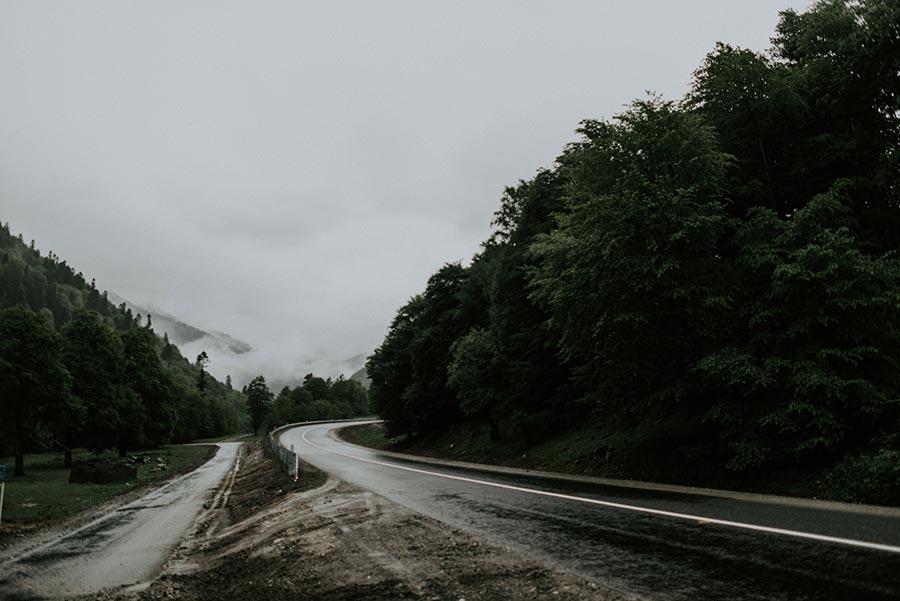 дождь, горы и вино 17