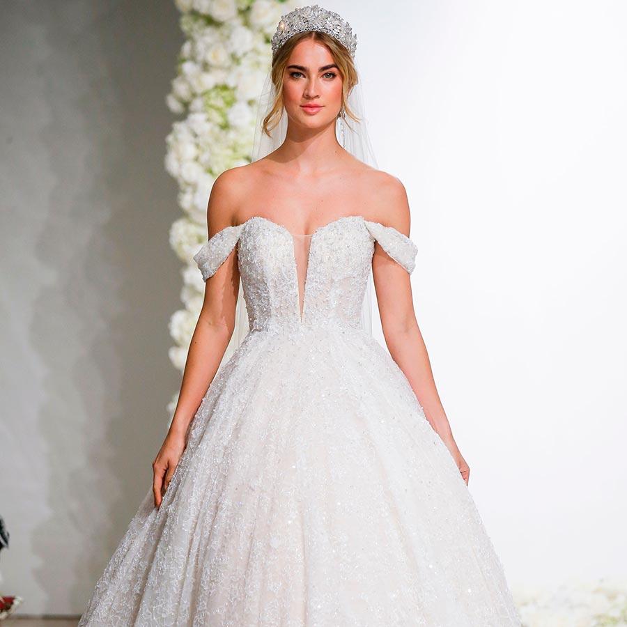 свадебные прически 2019 8