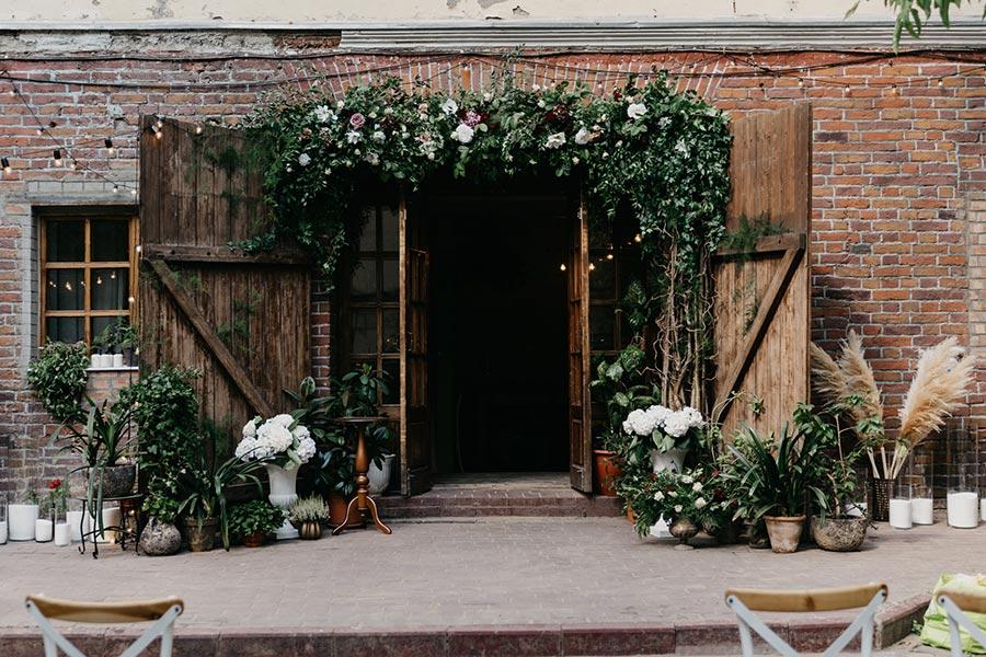магическая свадьба в стиле гарри поттера 6