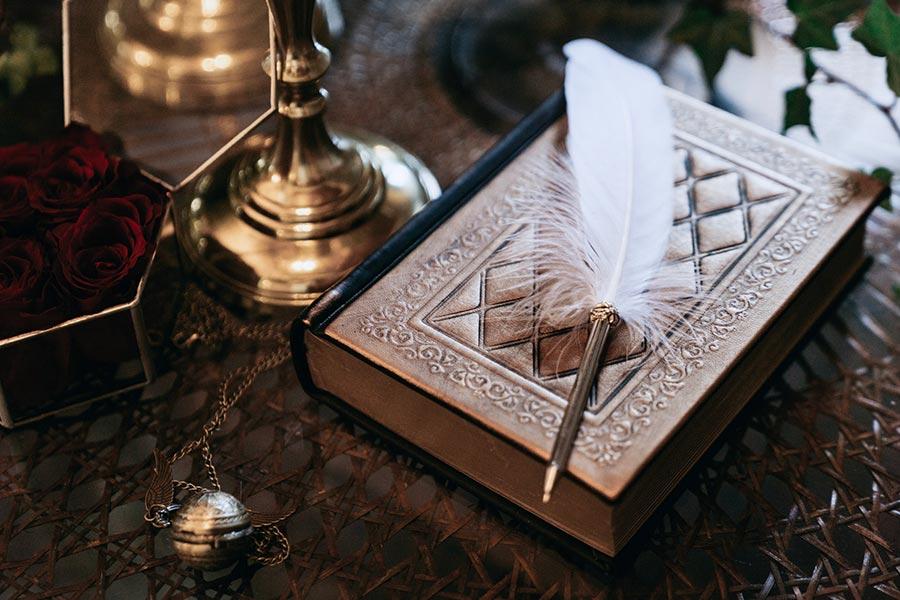 магическая свадьба в стиле гарри поттера 8