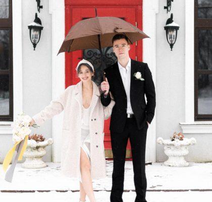 Зимняя свадьба в Калининграде