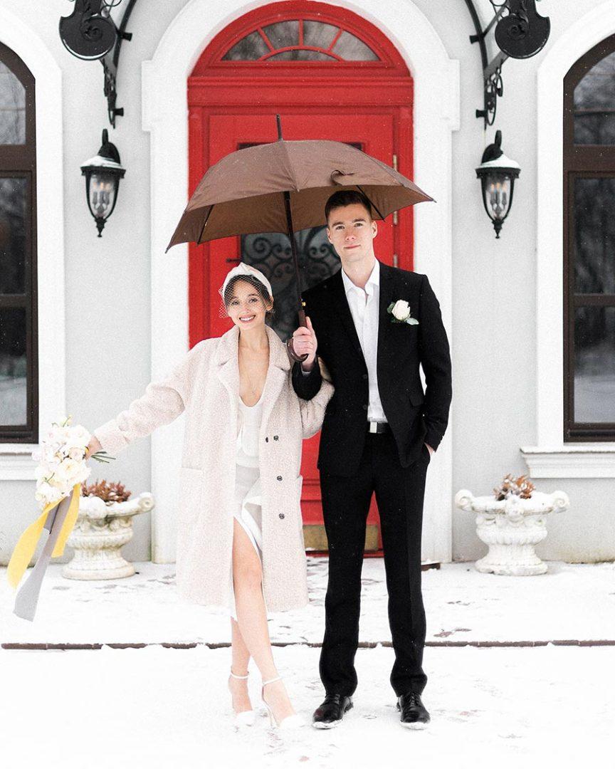зимняя свадьба в калининграде 1