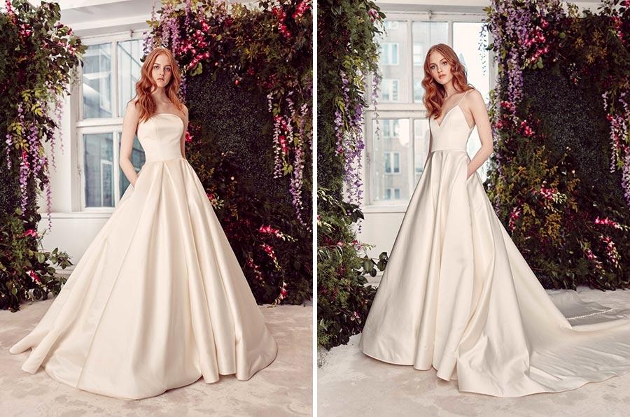 модные свадебные платья 2020 15