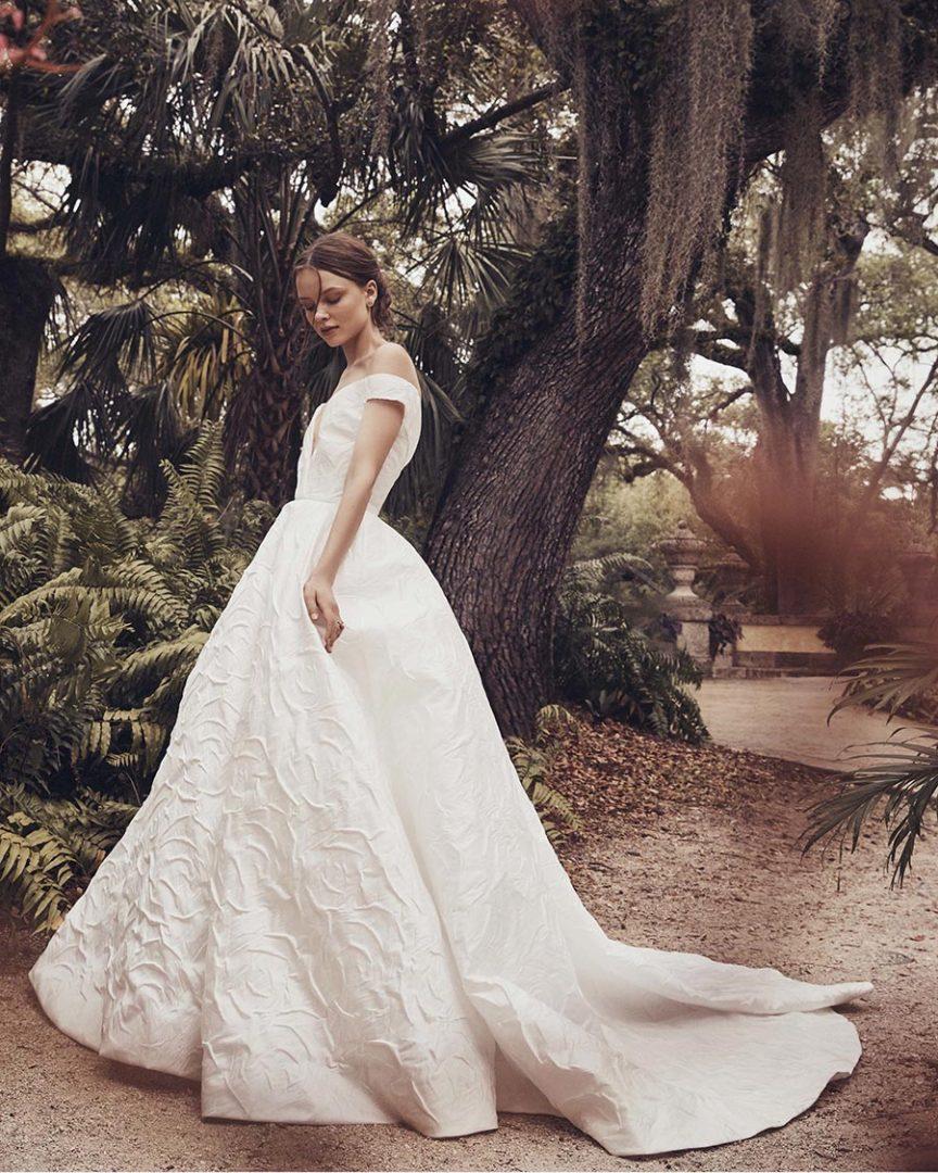 модные свадебные платья 2020 17