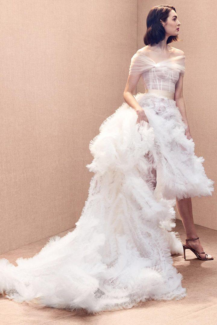 модные свадебные платья 2020 19