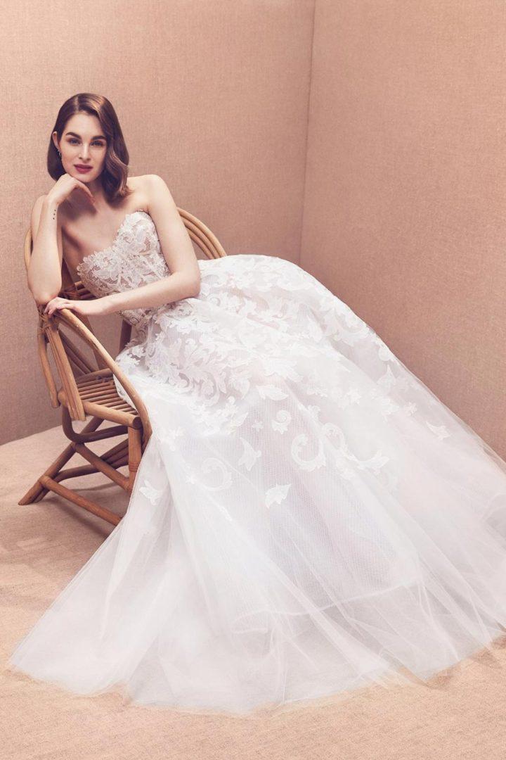 модные свадебные платья 2020 26
