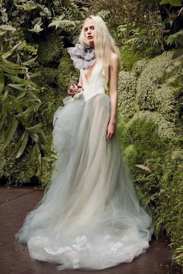 модные свадебные платья 2020 30