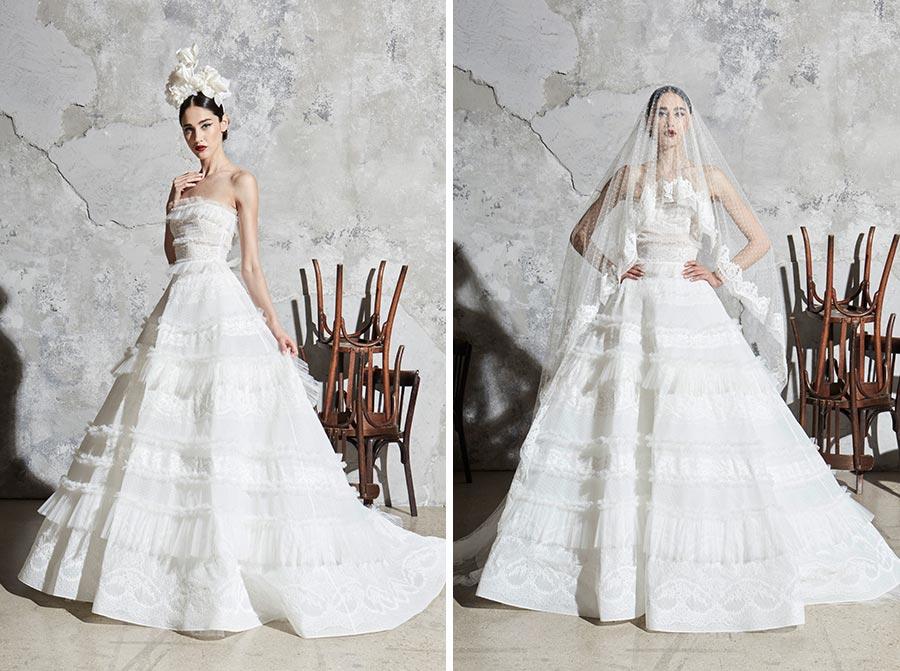 модные свадебные платья 2020 39