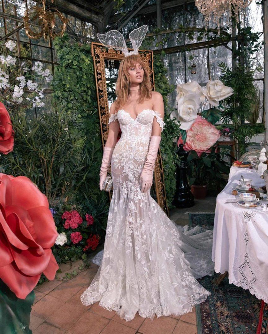 модные свадебные платья 2020 40