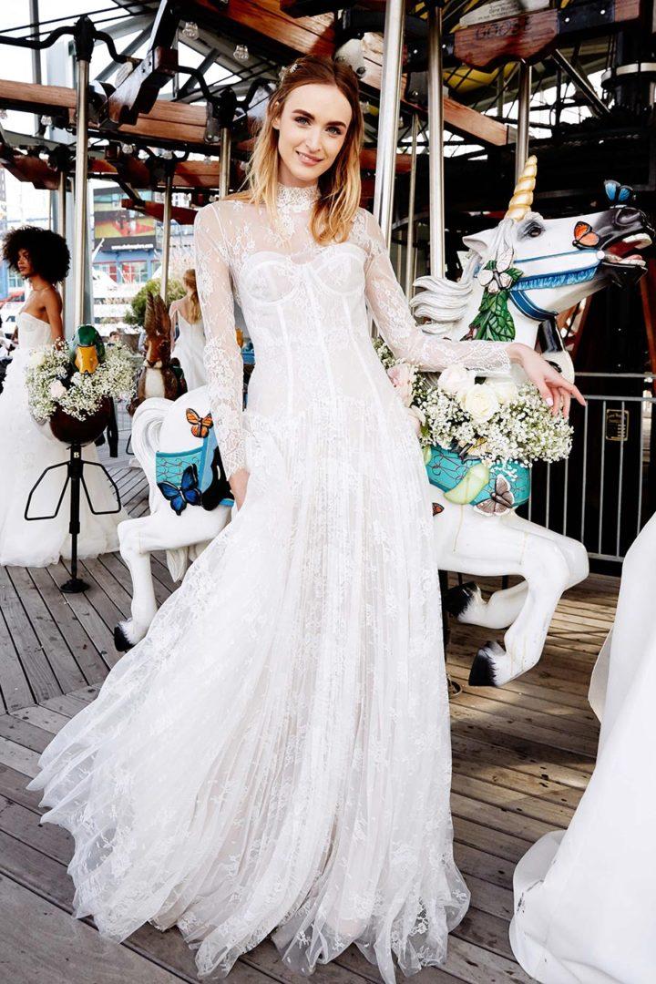 модные свадебные платья 2020 5