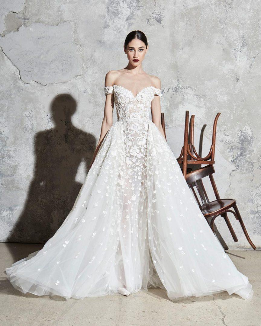 модные свадебные платья 2020 8