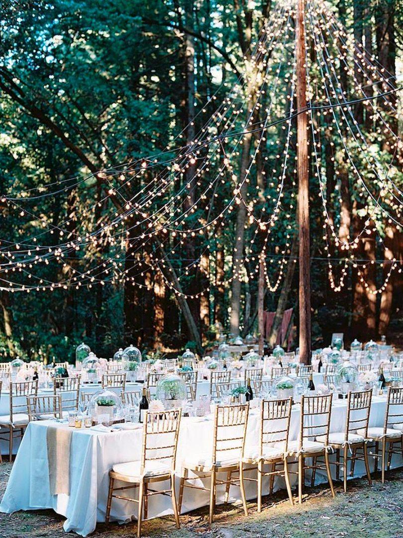 вечерняя свадебная церемония 10