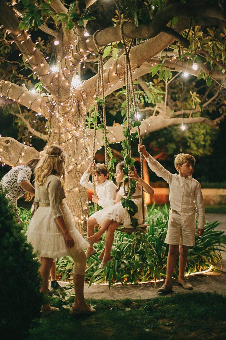 вечерняя свадебная церемония 3