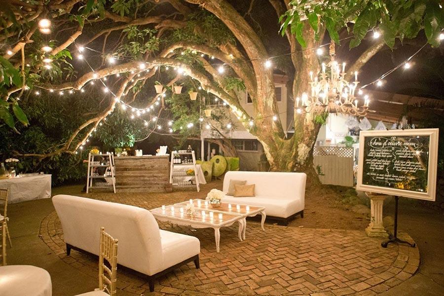 вечерняя свадебная церемония 6
