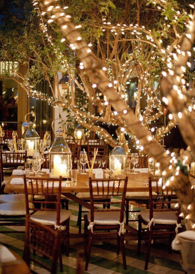 вечерняя свадебная церемония 7