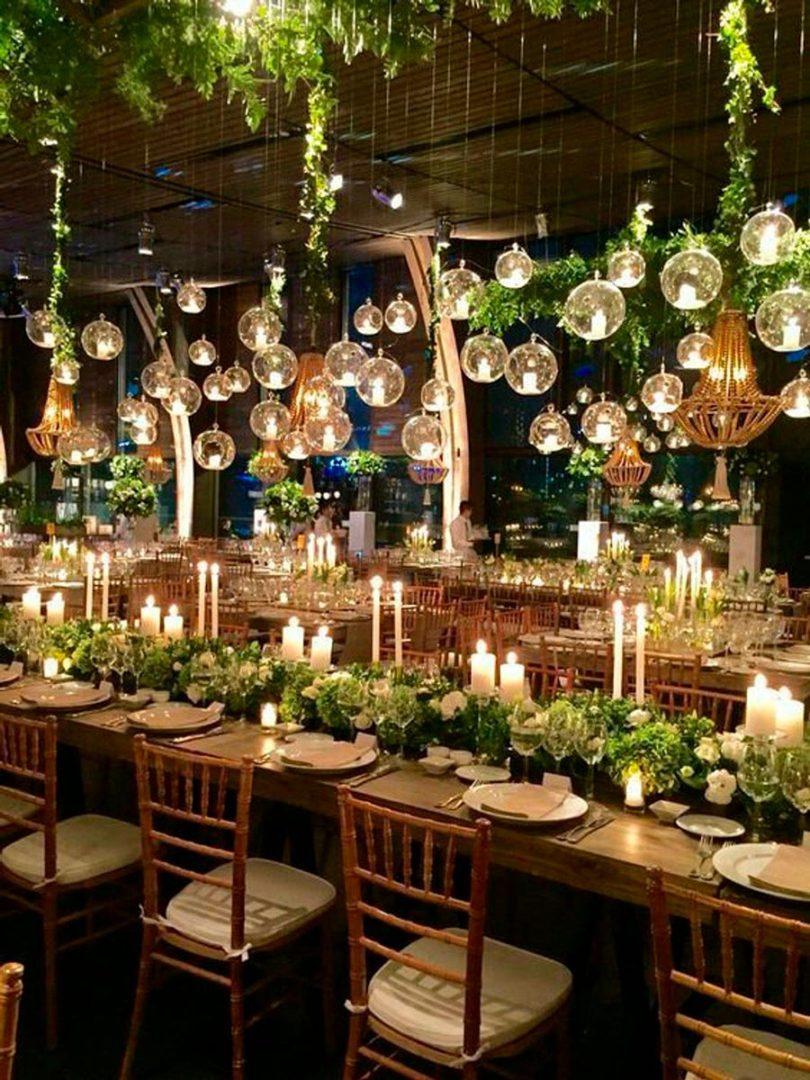 вечерняя свадебная церемония 8