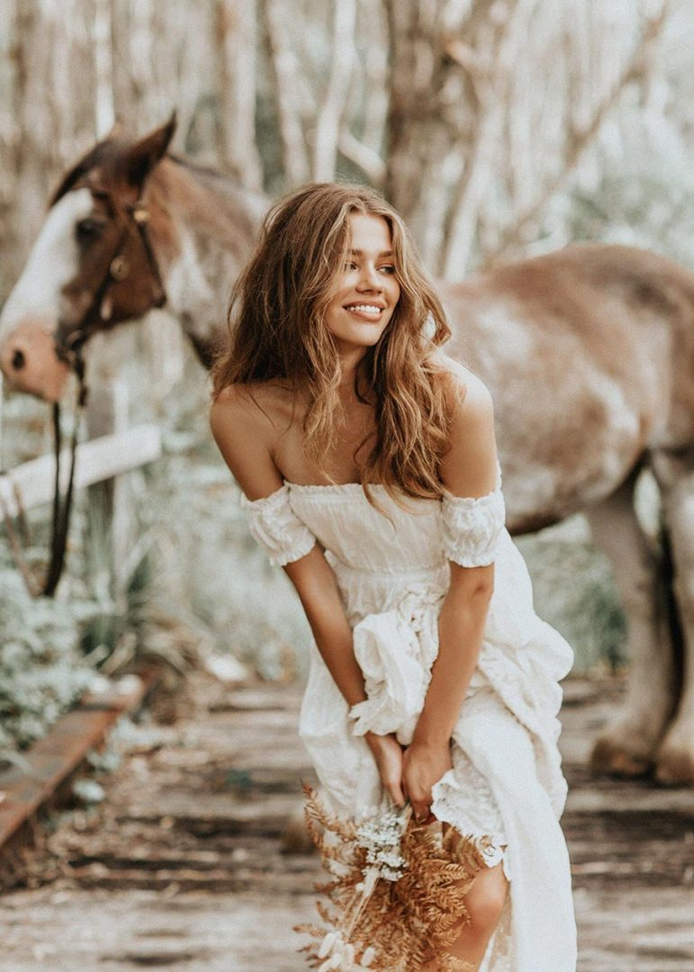 идеальный летний образ невесты как его создать 1