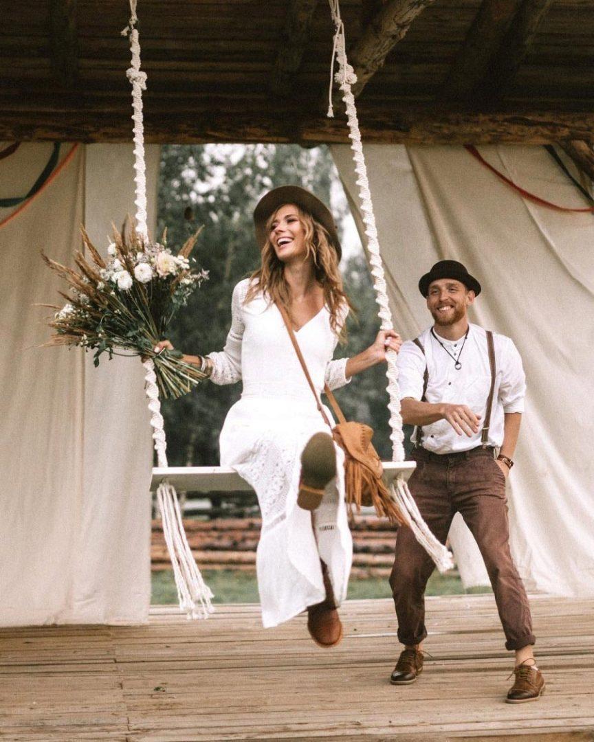 как устроить свадьбу в эко стиле 1