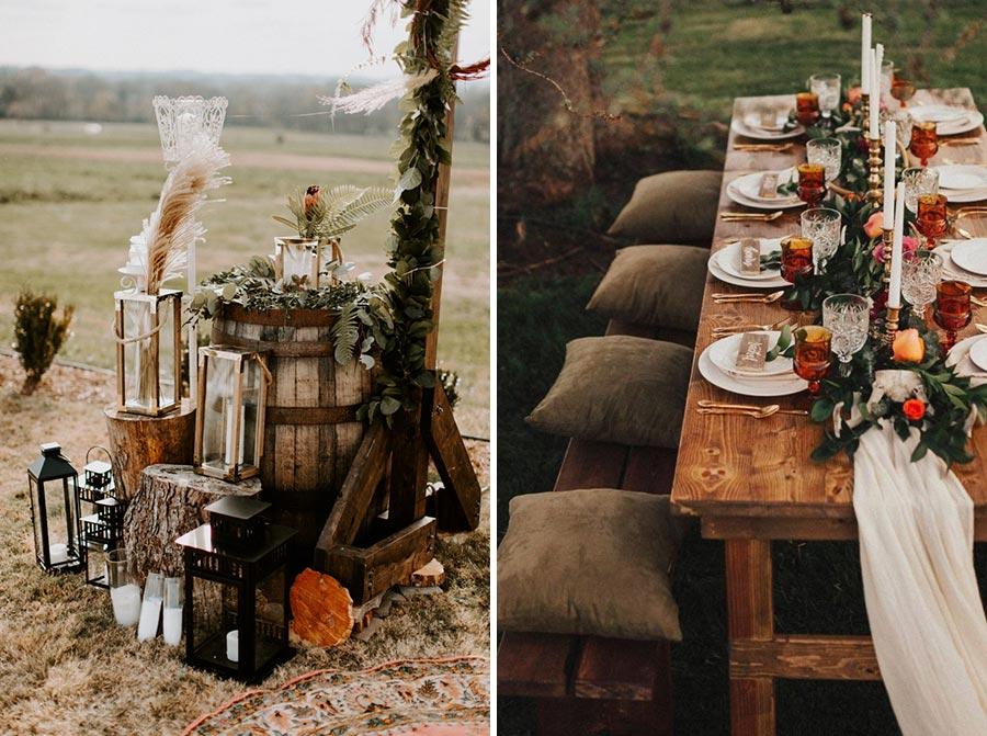 как устроить свадьбу в эко стиле 5