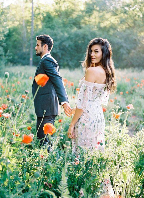 Лучшие идеи для свадебной фотосессии летом