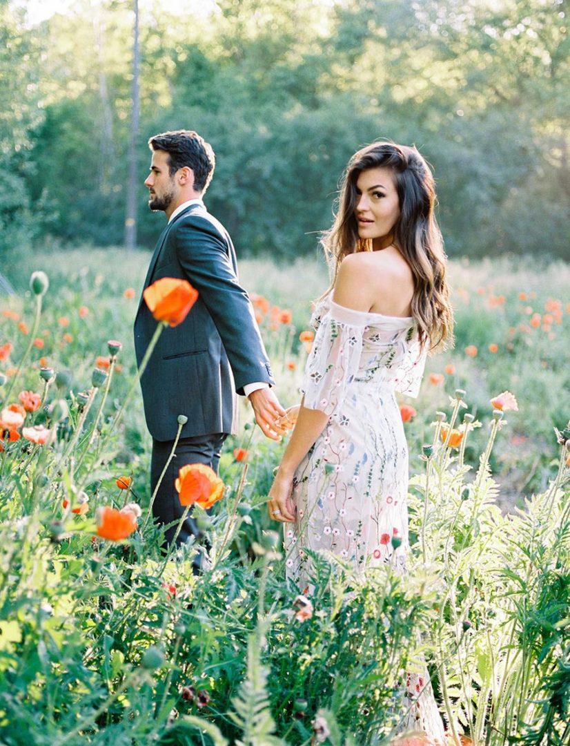 лучшие идеи для свадебной фотосессии летом 1