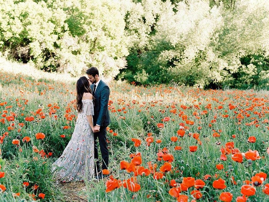 лучшие идеи для свадебной фотосессии летом 13