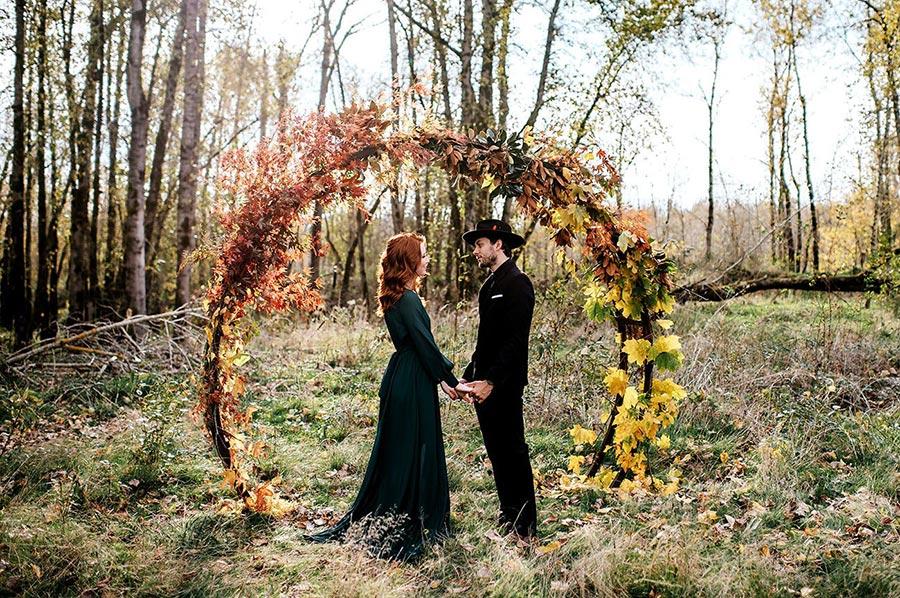 25 осенних свадебных арок 1