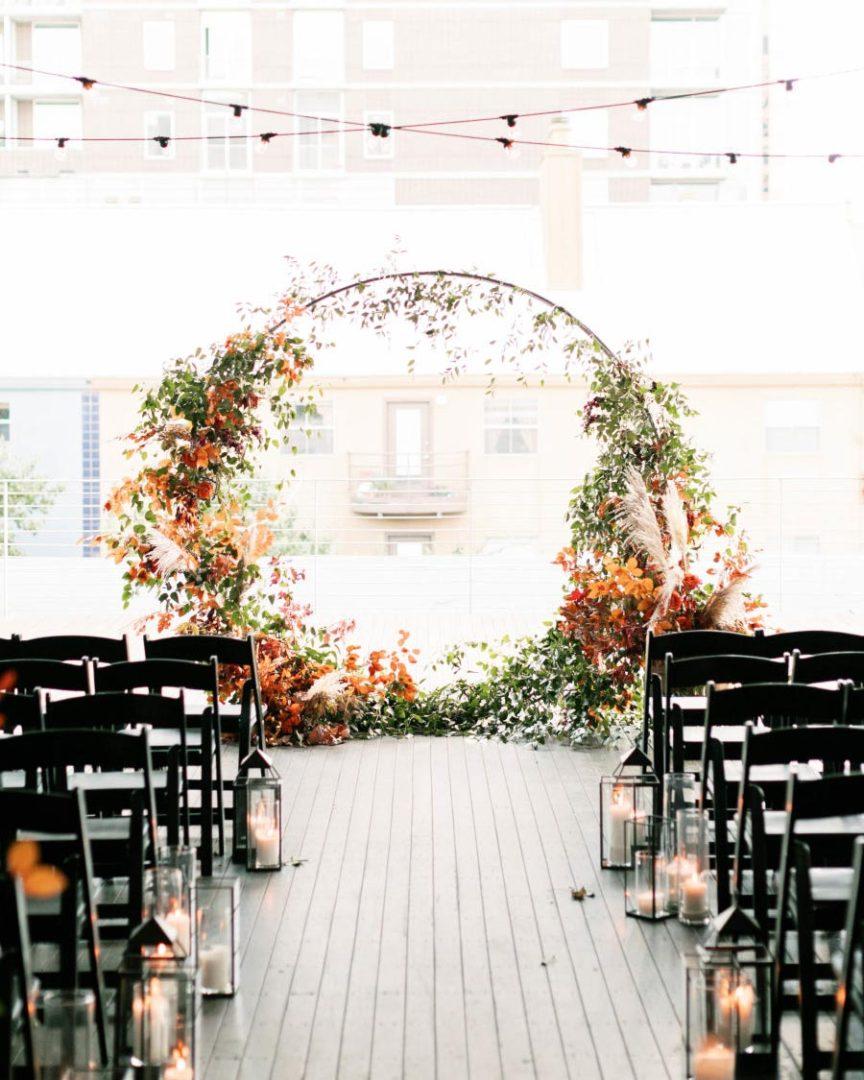 25 осенних свадебных арок 12