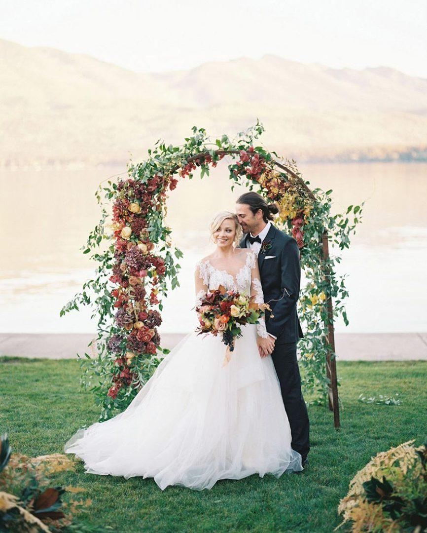 25 осенних свадебных арок 13