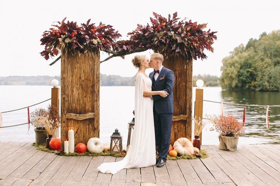 25 осенних свадебных арок 16