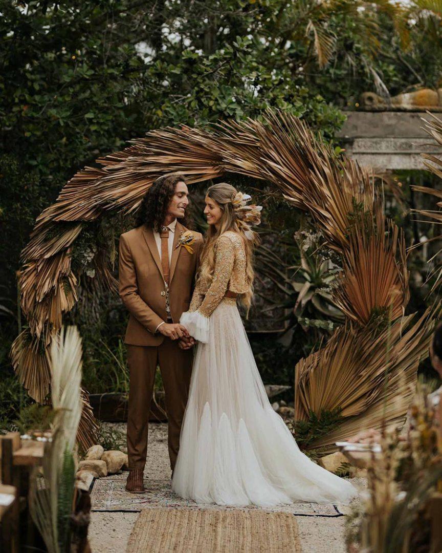 25 осенних свадебных арок 17