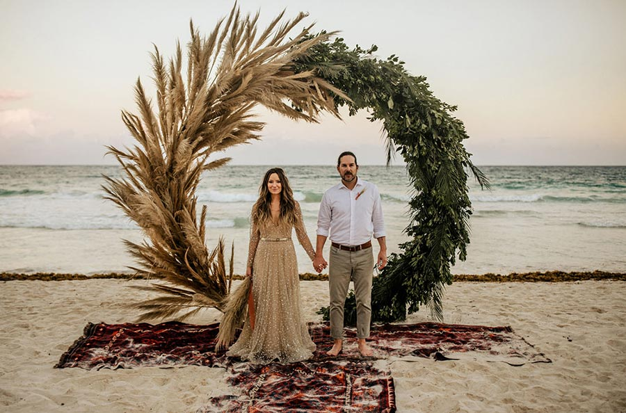 25 осенних свадебных арок 18
