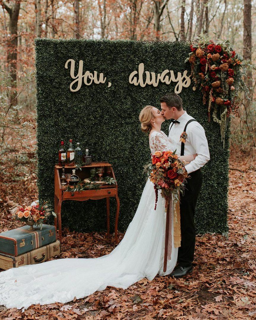 25 осенних свадебных арок 19