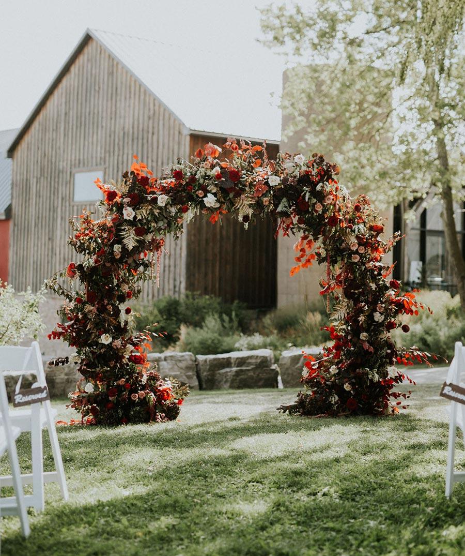 25 осенних свадебных арок 2