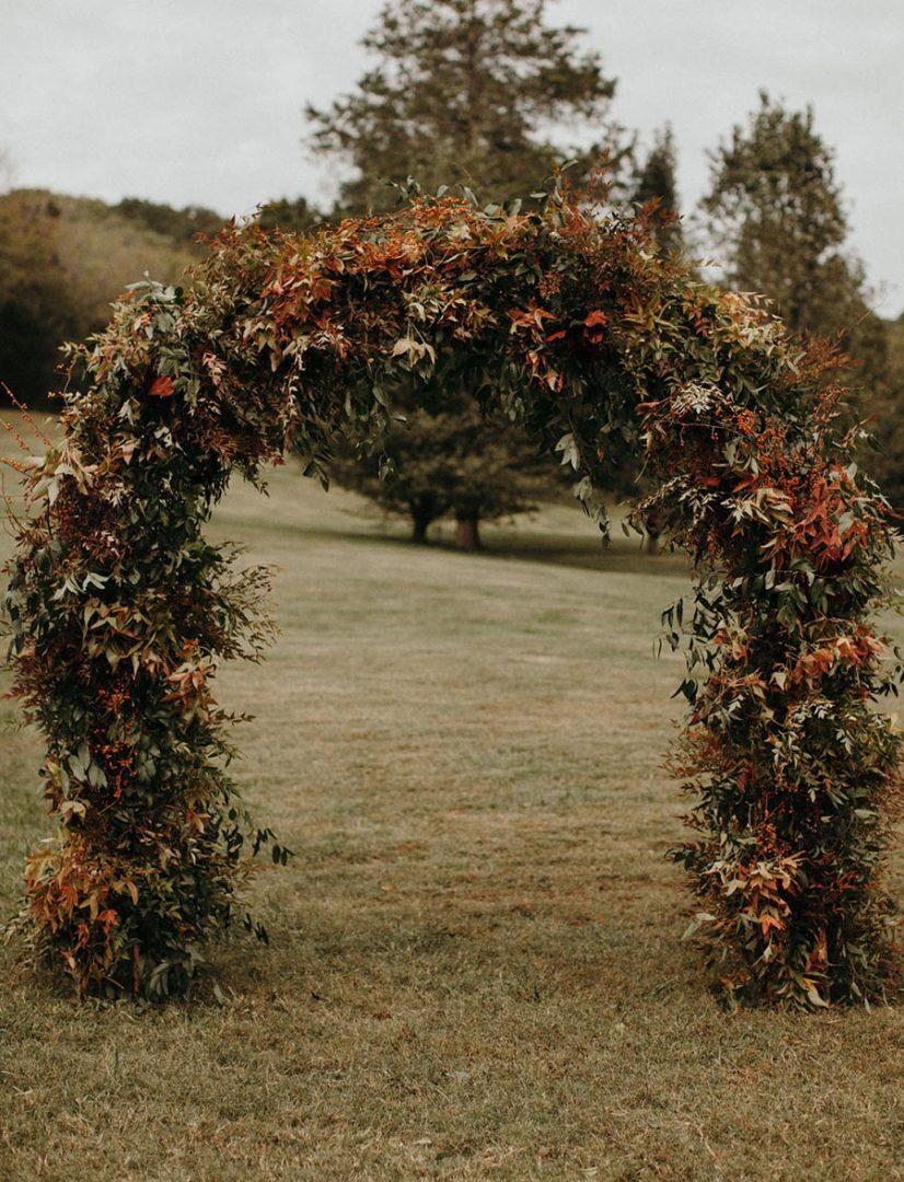 25 осенних свадебных арок 20