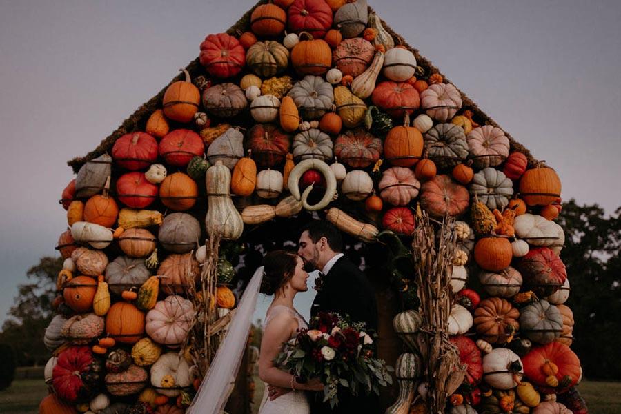 25 осенних свадебных арок 21