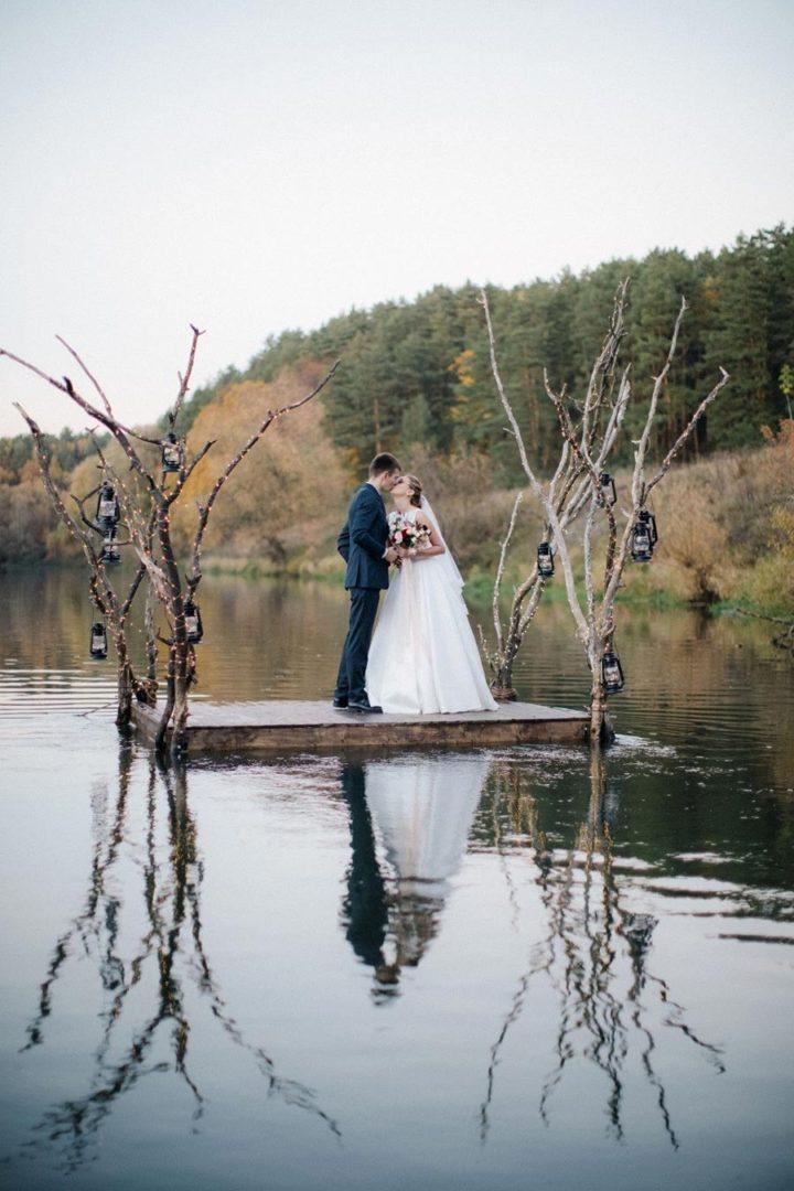25 осенних свадебных арок 22