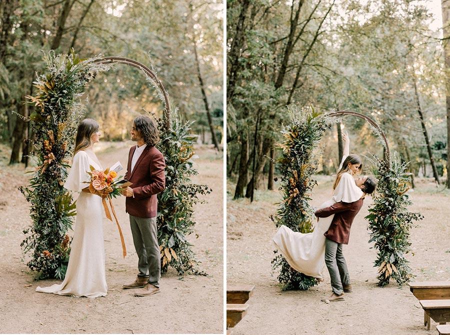 25 осенних свадебных арок 23