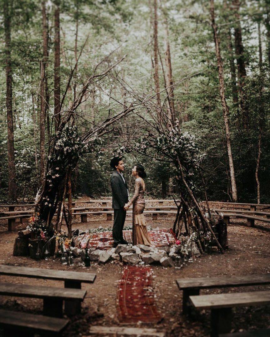 25 осенних свадебных арок 25