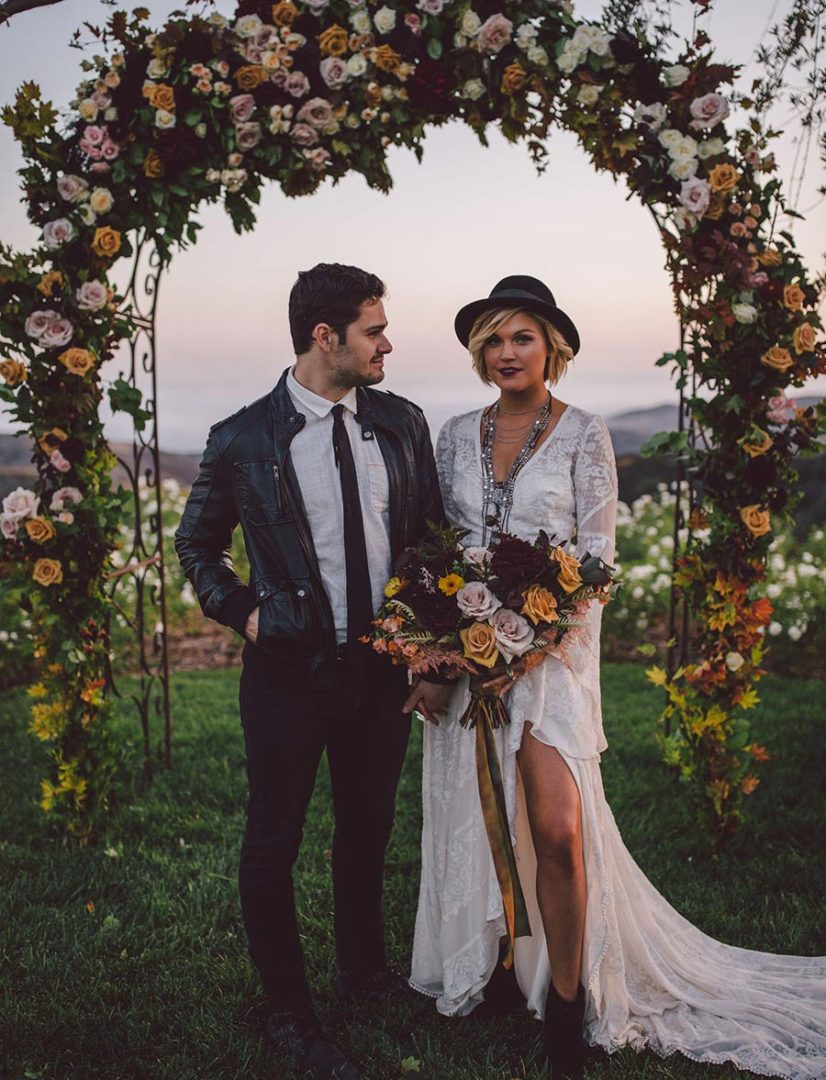 25 осенних свадебных арок 3