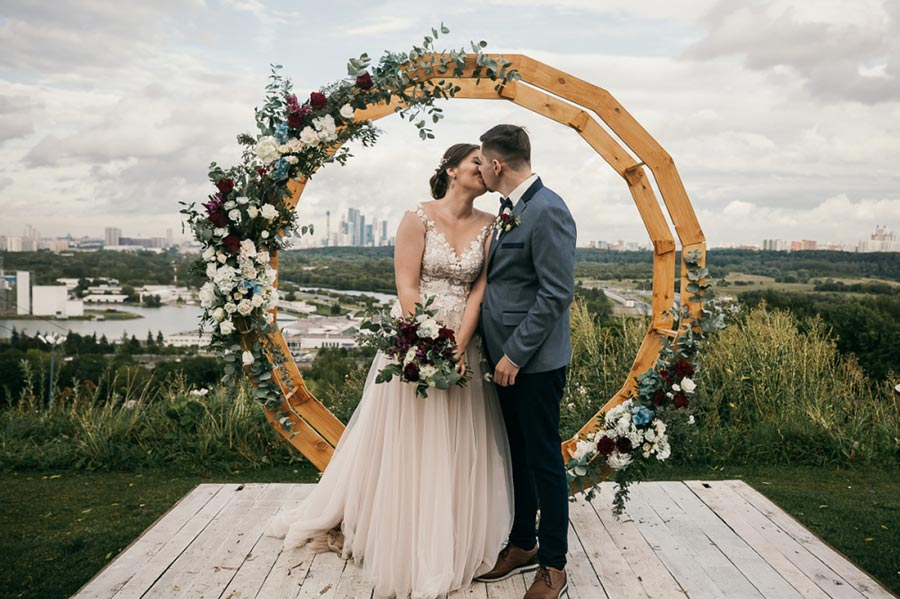 25 осенних свадебных арок 4