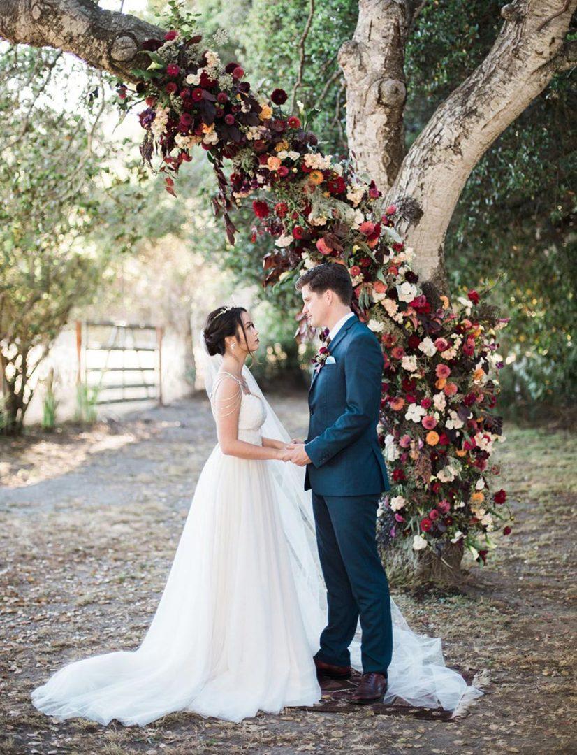 25 осенних свадебных арок 5